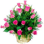 send flowers to Udupi__24 pink roses