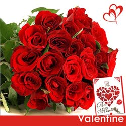 send red roses bunch online to belgaum