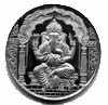 silver coin - ganesha  to pune